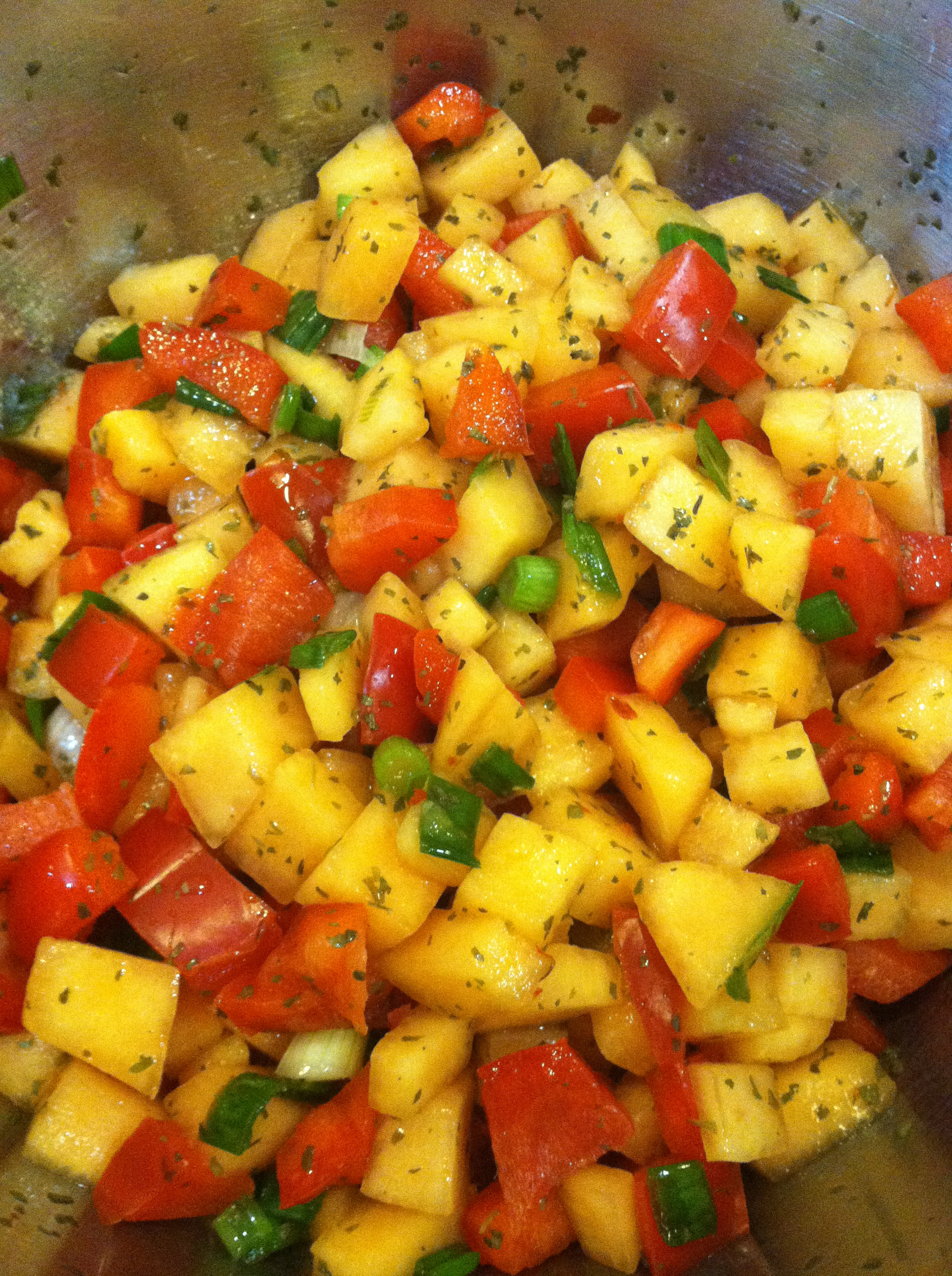 Cantaloupe salsa robin s recipes n food blog