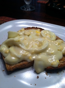 Creamed Egg on Toast