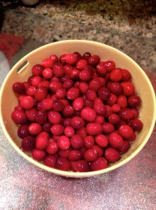 Fresh Cranberries, rinsed