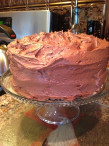 Chocolate Cake with ButterCream Frosting
