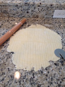 Rolled and Cut dough